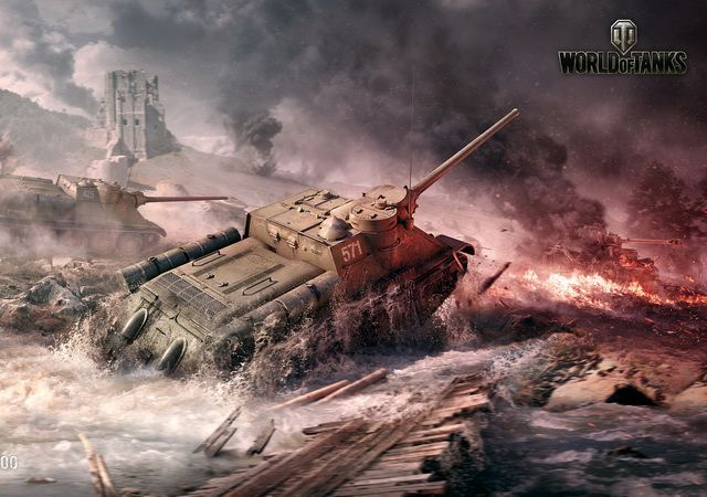 WoT 16к IS-3+Lowe+SkorpG+TS-5+FV217 Badger (7 топов)